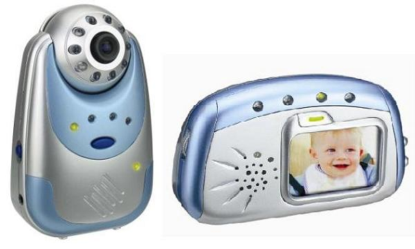 "JY-238T+JY-268R 2.4"" 2.4GHz Digital Video Baby Monitor"