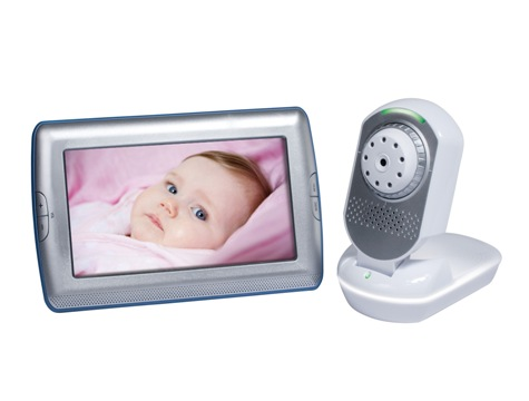 "JY-399 7"" Digital Video Baby Monitor"