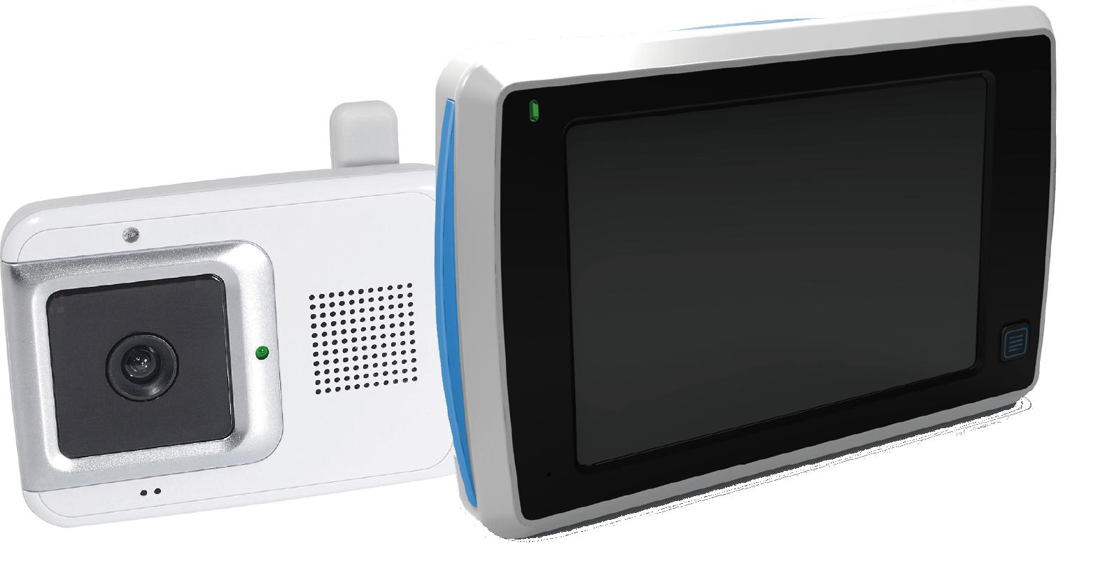 "JY-438 4.3"" Digital Two-Way Video Baby Monitor"